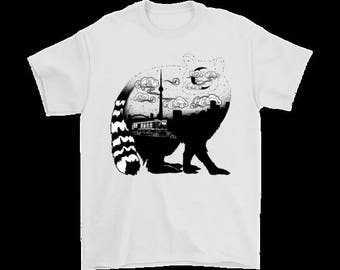 Toronto- Raccoon City T shirt Mens