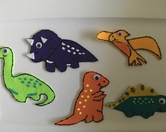 Dinosaur Theme Felt Story - Children's Felt Story