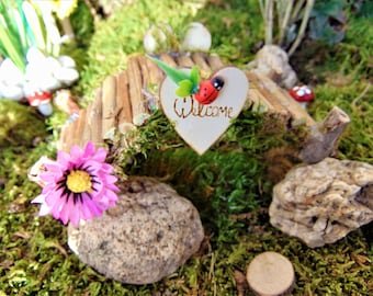 Miniature Bridge, Fairy Garden, Fairy Garden Bridge,wood bridge,fairy decor, Terrarium miniatures ,Fairy Garden bridge,miniature bridge