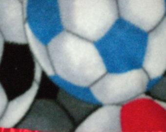 Fleece Soccer Pillowcase