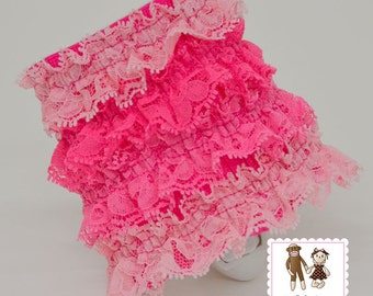 Petti Lace Ruffle Night Light in 27 Colors by Chic Baby Rose