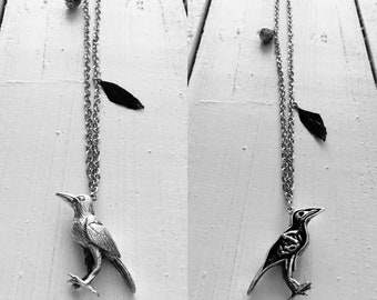Necklace: Doctor Raven & Crow Mister