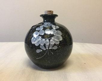 Vintage pomander, potpourri holder, ceramic pomander, floral pomander, porcelain pomander, closet freshener, air freshener, pomander ball