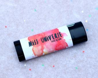 Tinted Lip Balm- Miss Universe (Vegan)