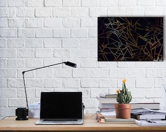 Geometric Abstract Nite Art Print