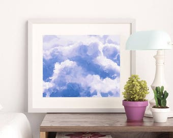 Clouds 08 - Art Print