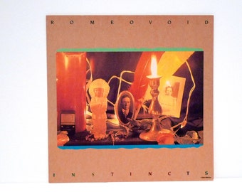 Romeo Void Poster 1984 Vintage Instincts Record Store Flat New Wave Indie Rock Debora Iyall I Might Like You Better If We Slept Together