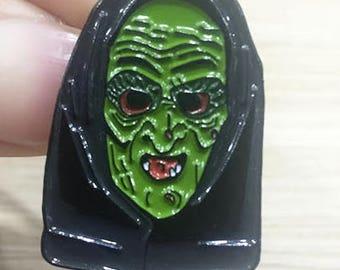 Halloween 3 Witch Mask Enamel Pin