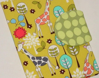 Kindle Cover Hardcover, Kindle Fire HD Cover, Kindle Paperwhite Cover  - Giraffe Garden eReader Book Cover