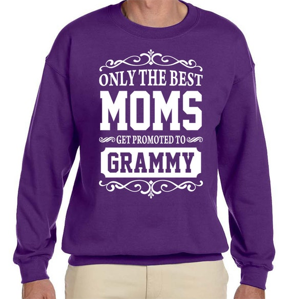 Only The Best Moms Get Promoted To Oma - Crewneck Sweatshirt - Oma Gift pcNQK