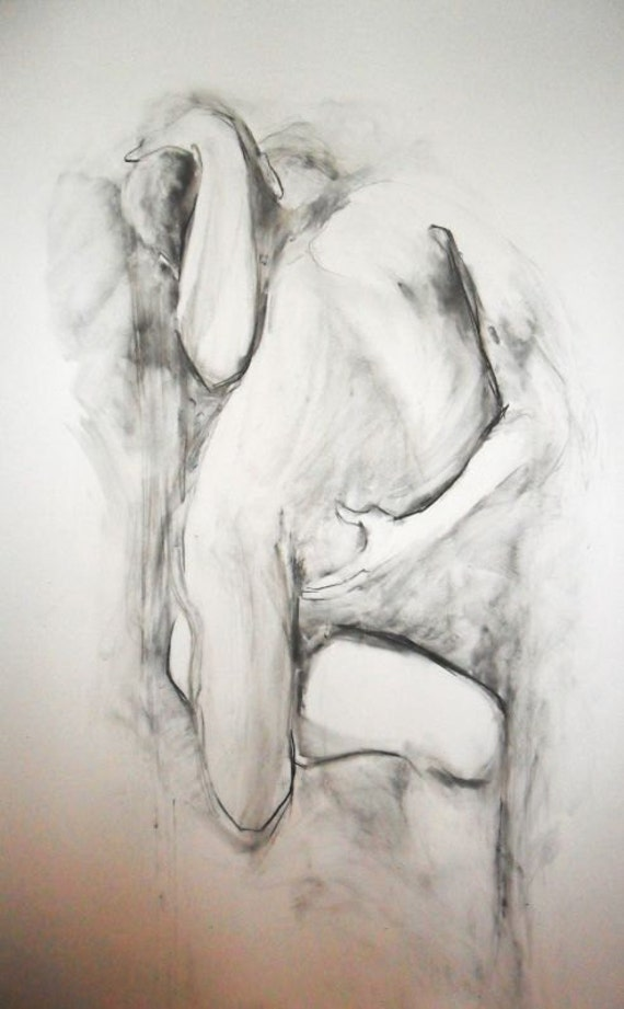 items similar to large couple drawing lovers drawing sensual love