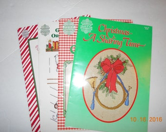 Christmas Cross Stitch Books (4)