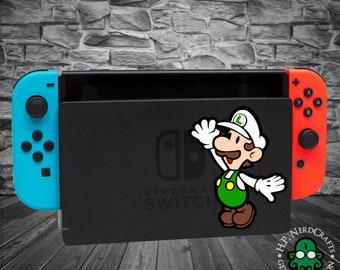 Fire Luigi Decal