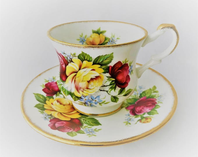 Royal Heritage-Bone china cup and saucer
