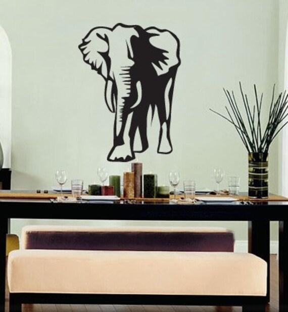 Vinyl wall art decal sticker lucky elephant decoration 142