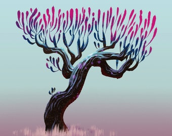 Tree Series: Sprouting Tree - Limited Edition Print