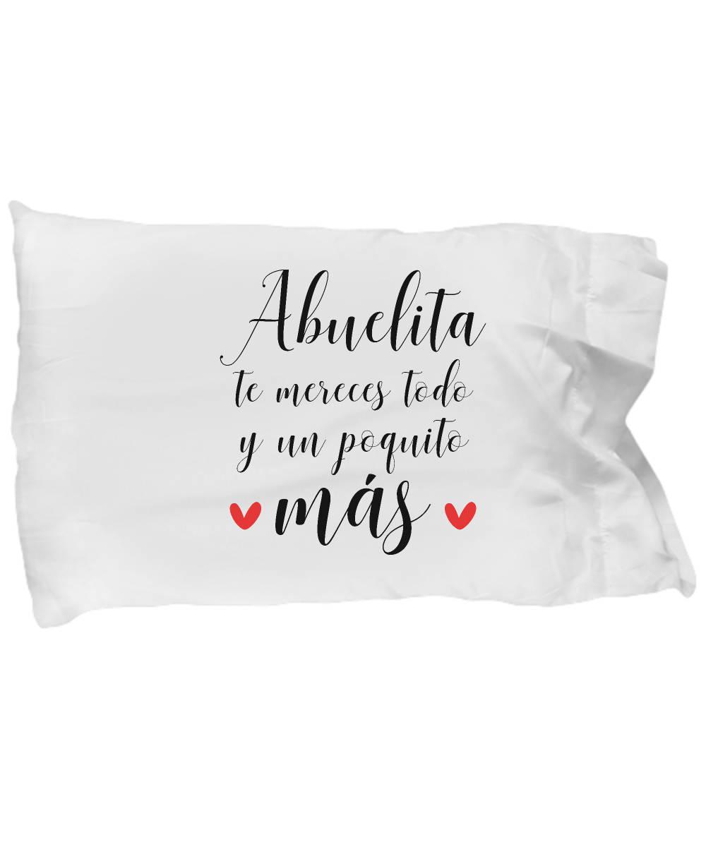 Feliz Dia De La Madre Abuelita Mother\'s Day Pillow Case