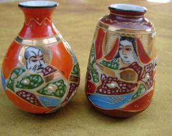 Vase miniature satsuma