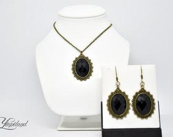Gothic Jewellery Set   Victorian Jewellery set