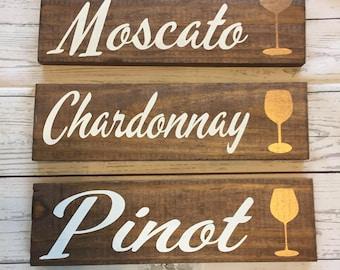 Wine, Wooden wine sign, Wine gift, Wooden sign, Kitchen Wall Decor, Kitchen sign, Chardonnay, Merlot, Wine lover, Kitchen sign, wine decor