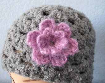 The Little Hat Flower - PDF Crochet Pattern