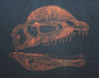 Dilophosaurus Dinosaur Fossil T-Shirt