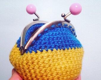 Coin purse,crochet purse, pouch