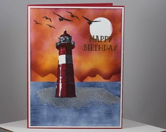 Sunset Lighthouse Birthday