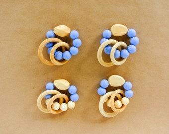 Indigo Blue Teething Ring