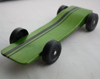 Pinewood Derby Car Kit Fast Speed Complete Ready to Assemble