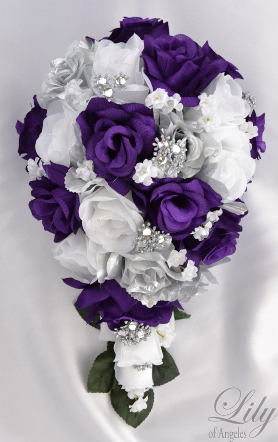 Wedding Flowers Wedding Bouquet Silk Flower Bouquet