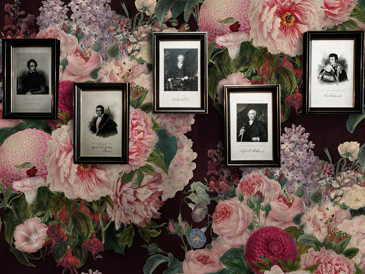 Wall Art, Kitchen Decor, Bedroom Decor, Kitchen Wall Decor, Bedroom Wall  Decor, Floral Decor, Decor, Floral Wallpaper, Flower WallPaper