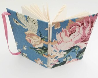 Romantic hardcover journal