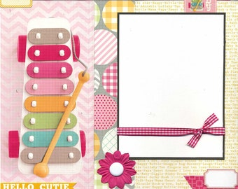 Baby - Premade Scrapbook Page