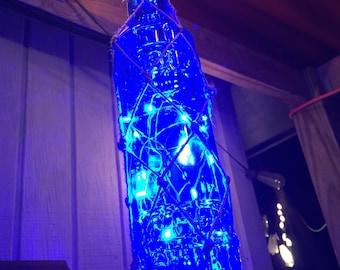 Blue LED lantern