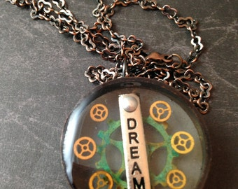 Dream Gears Steampunk Necklace