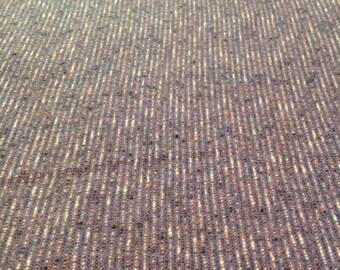 Vintage Purple Wool tweed made in England