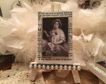 THY Throne - Petite Canvas / Easel Religious Art
