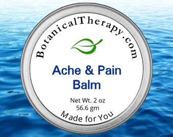 Ache and Pain Balm