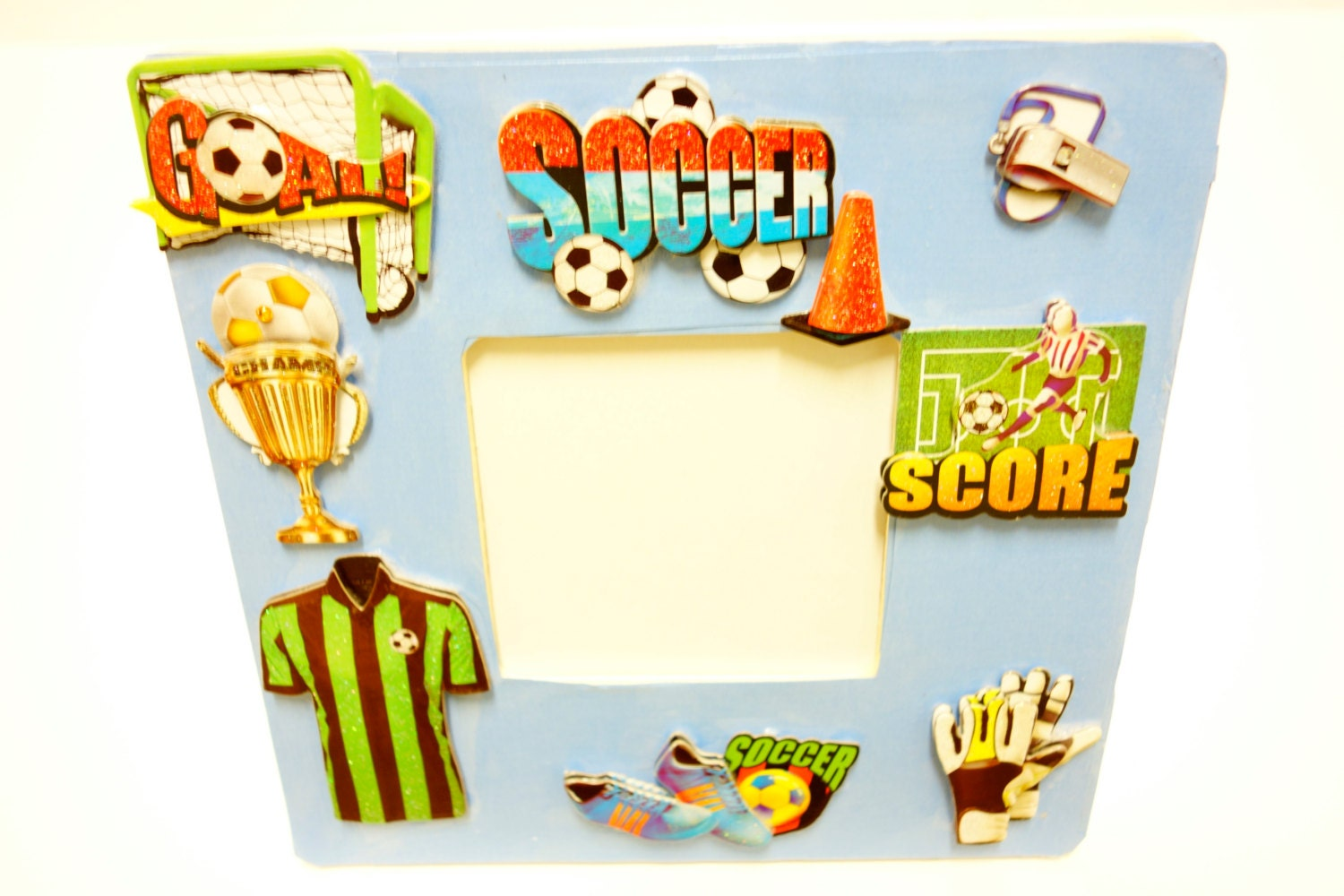 Soccer gifts personalized sport frames soccer themed wooden sold by kayseecollection jeuxipadfo Images
