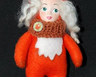 Teddy Doll Felt Fox