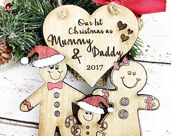 First christmas as Mummy and Daddy, 1st christmas as parents, Mommy & Daddy,  1st christmas as grandparents, 1st christmas nanny and grandad