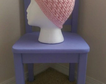 Lazy Daisy Beanie Crochet Pattern - The Lavender Chair *PDF ONLY* Instant Download