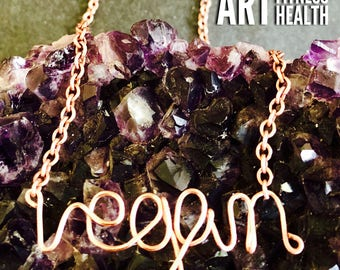 Vegan Pendent Necklace