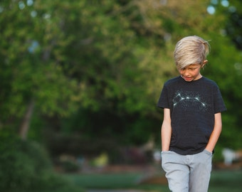 Little Dipper Tshirt Galaxy Kids Gift, Unisex Constellation Shirt Boys or Girls, Baby Toddler Youth Tshirt, BlackbirdSupply