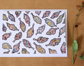 Leaves Gift Card- Print