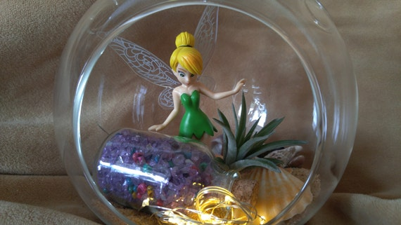 Diy fairy garden terrarium kit tinker bell with pixie dust and solutioingenieria Image collections