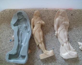 fimo wepam plaster gm revolution era man silicone mould