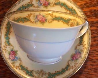 Vintage Noritake Tea Cup in Althea Pattern Notitake