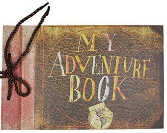 "My Adventure Book UP, Wedding Photo Album Scrapbook 11.6""x7.5"" inches, 80 Pages"